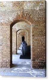 Acrylic Print featuring the photograph Historic Hallway by Laurie Perry