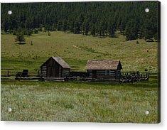 Historic Homestead Acrylic Print