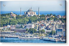 Historic Istanbul Acrylic Print