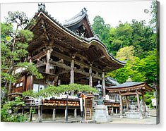 Historic Japanese Temple Acrylic Print