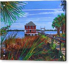 Historic Ormond Boathouse Acrylic Print