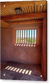 Historic Painted Desert Inn Acrylic Print