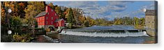 Historic Panorama Acrylic Print by Lanis Rossi