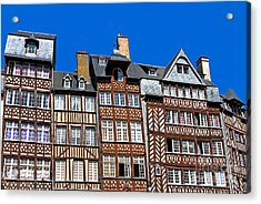 Historic Rennes Acrylic Print by Jane Rix
