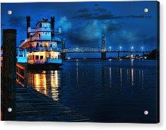 Historic Riverfront Acrylic Print by Rafe Martin