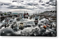 Historic Rockport Harbor Acrylic Print