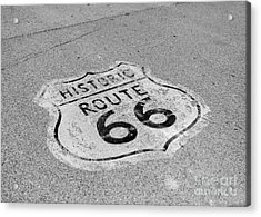 Historic Route 66 Acrylic Print by Kay Pickens