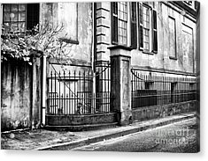 Historic Savannah Acrylic Print by John Rizzuto