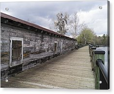 Historic Steamer Terminal On The Waccamaw River Acrylic Print