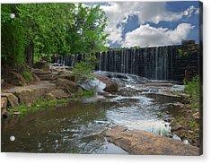 Historic Yates Mill Dam - Raleigh N C Acrylic Print