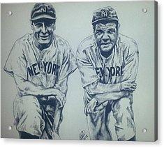 Historical Baseball Acrylic Print