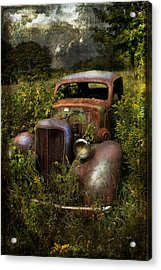 Historical Journey Acrylic Print by Evie Carrier