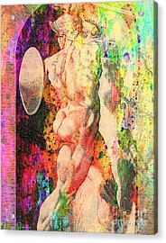 History Culture Of Nude Acrylic Print by Mark Ashkenazi