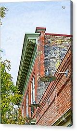 History In Brick Acrylic Print