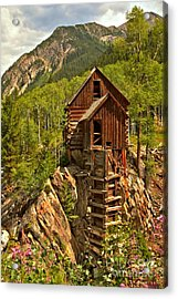 History In The Mountains Acrylic Print by Adam Jewell