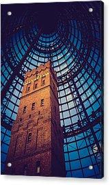 History Under Glass Acrylic Print