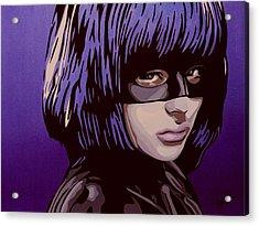 Hit-girl Acrylic Print by Ian  King