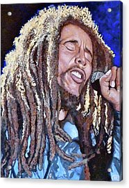 Hit Me With Music Acrylic Print by Tom Roderick