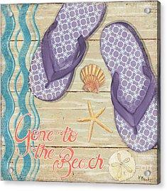 Hit The Beach I Acrylic Print by Paul Brent