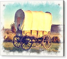 Hitch Your Wagon Acrylic Print
