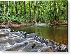Hitchcock Creek Flow Acrylic Print