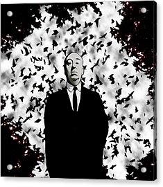 Hitchcock Acrylic Print by Jeff DOttavio