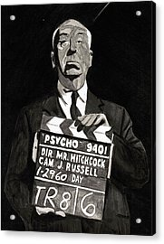 Hitchcock Acrylic Print by Rob Merriam