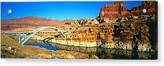 Hite Overlook And Cataract Canyon Acrylic Print
