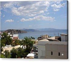 Tolo - Greece Acrylic Print by Kostas Dendrinos