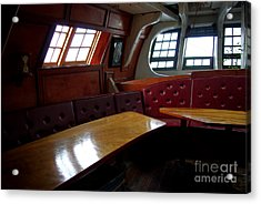 Hms Bounty Twenty Five Cents For The Captain Aka Captains Quarters Acrylic Print