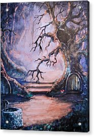 Hobbit Watering Hole Acrylic Print