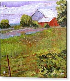 Hobbs Farm Acrylic Print