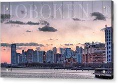 Hoboken  Acrylic Print by JC Findley