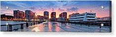 Hoboken New Jersey Acrylic Print by Emmanuel Panagiotakis