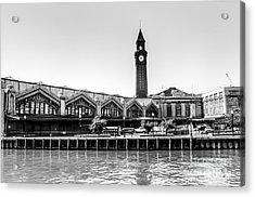 Hoboken Terminal Tower Acrylic Print