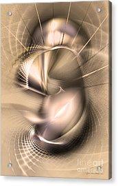 Hoc Omnis Est - Abstract Art Acrylic Print