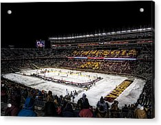 Hockey City Classic Acrylic Print