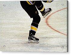 Hockey Dance Acrylic Print by Karol Livote