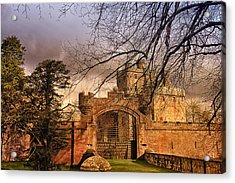 Hoddom Castle Acrylic Print