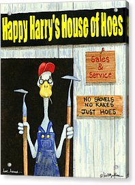 Hoe House... Acrylic Print by Will Bullas