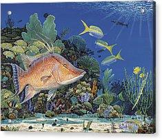 Hog Heaven Re005 Acrylic Print by Carey Chen