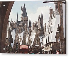 Hogsmeade Acrylic Print by Jessie Gould