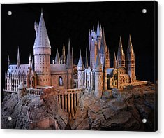 Hogwarts Castle Acrylic Print by Tanis Crooks