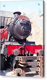 Hogwarts Express Color Acrylic Print