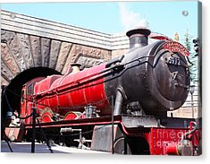 Hogwarts Express In Color 1 Acrylic Print