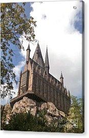 Hogwarts On High Acrylic Print