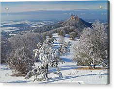 Acrylic Print featuring the photograph Hohenzollern Castle 2 by Rudi Prott