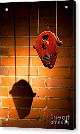 Hoist For Lifting Heavy Weight Acrylic Print by Dirk Ercken