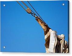 Hoist The Sails. Acrylic Print