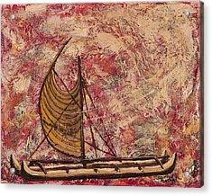 Hokulea Acrylic Print by Darice Machel McGuire